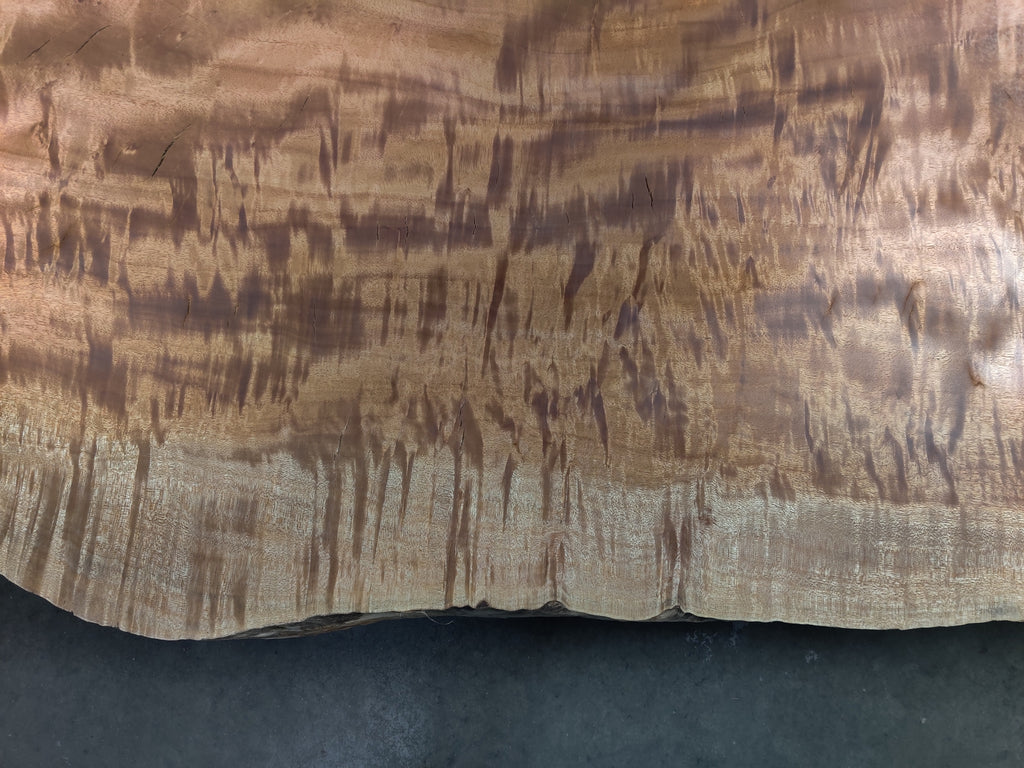 "Queensland Maple #20116 (76"" x 29"" - 56"" x 2.25"")"