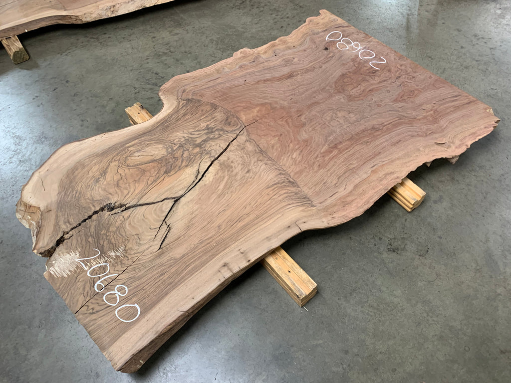 "Claro/English Walnut Graft #20680 (63"" x 29""- 38"" x 2"")"