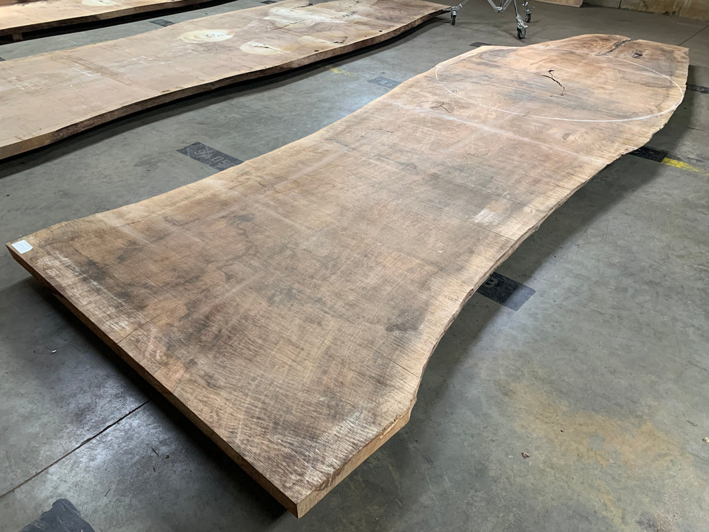 "Oregon Black Walnut #20706 (209"" x 41""- 70"" x 2.5"")"