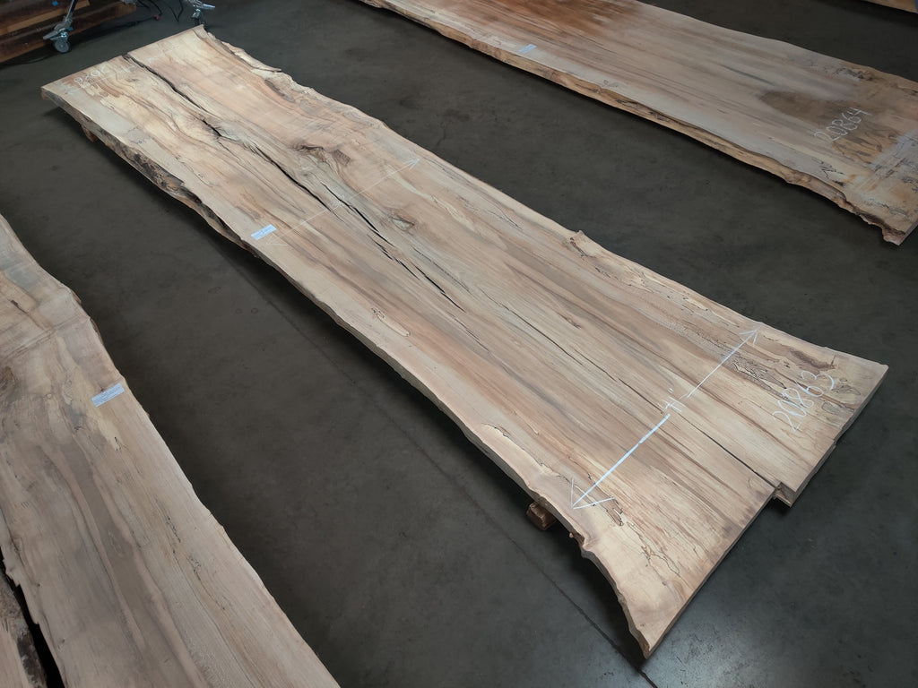 "Hard Maple #20863 (172"" x 37.5"" - 42"" x 2 3/8"")"
