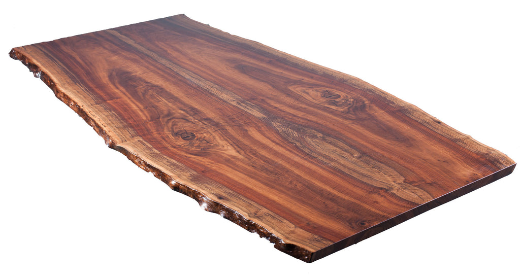 Claro Walnut 9' Bookmatched Table