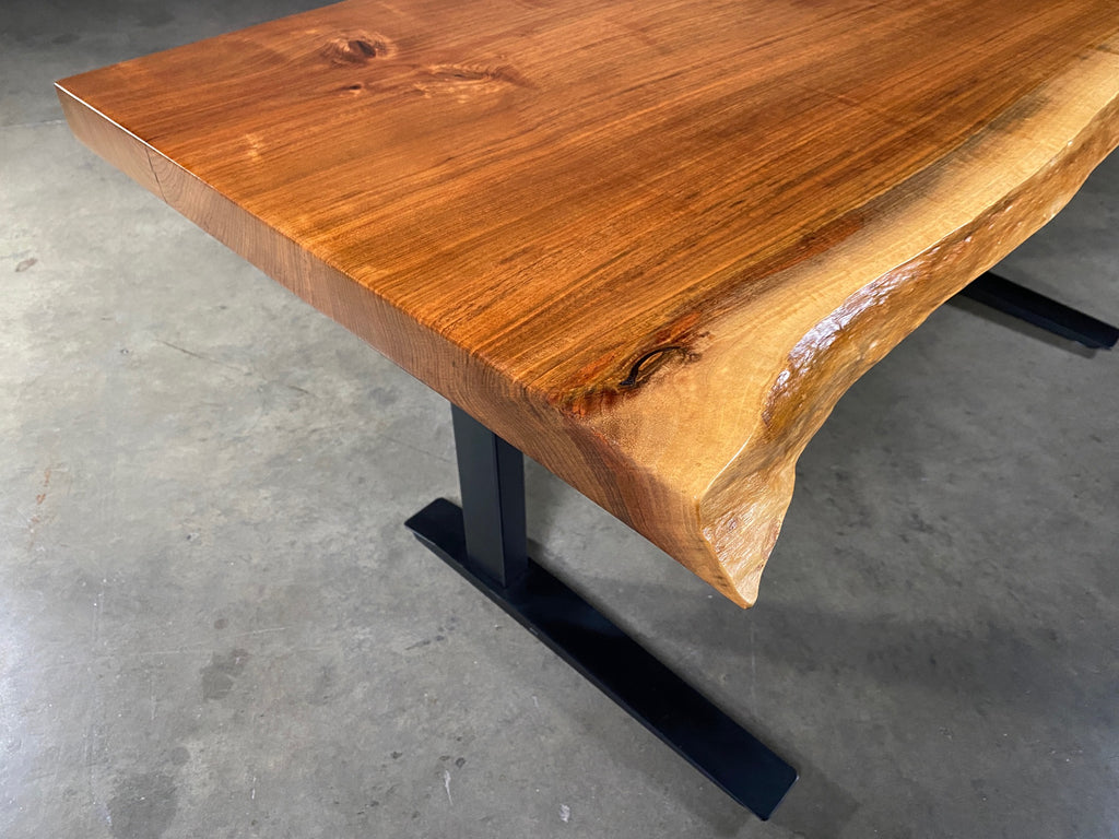 Black Walnut Sit-Stand Desk