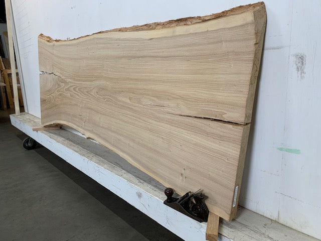"Colorado Elm Live Edge Slab (2"" x 28 - 34"" x 91.5"")"