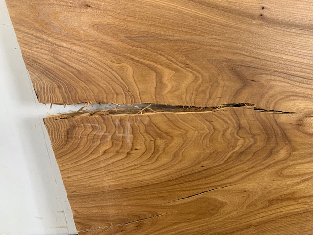 "Colorado Elm Live Edge Slab (2.5"" x 29.25 - 34"" x 89"")"