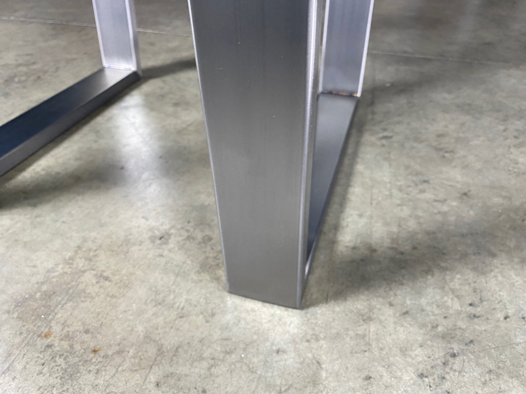 Polished Steel Trapeze Legs #2041
