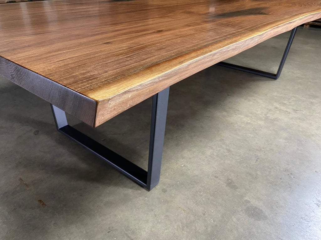 Bookmatched Black Walnut Dining Table