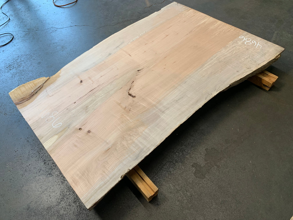 "Big Leaf Maple  (61.5"" x 34""- 40"" x 3"")"