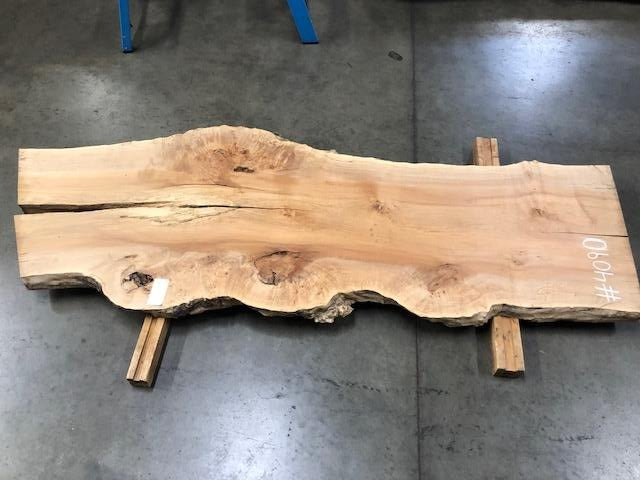 "Burled Maple Slab #4090 (95"" x 34.5""- 36"" x 2.5"")"