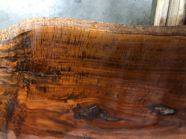 "Claro Walnut Graft #AL1 (89.5"" x 17"" - 37"" x 2"")"