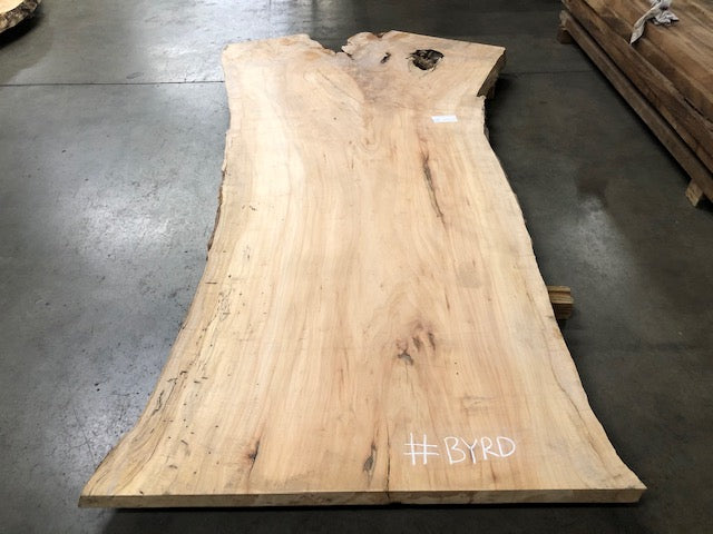 "Maple #BYRD (97"" x 39""- 54"" x 2.25"")"