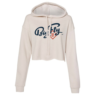 Big Fly Cropped Fleece Hoodie