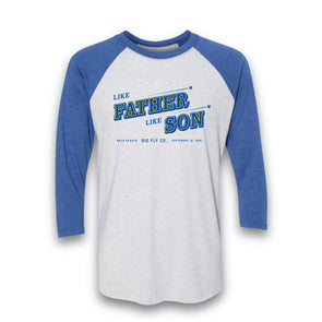 Like Father, Like Son Raglan