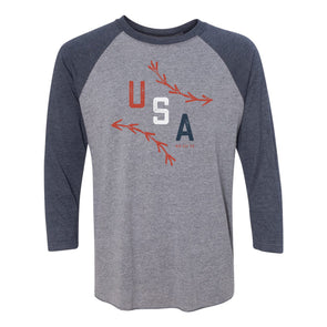 Seams Raglan - USA Edition