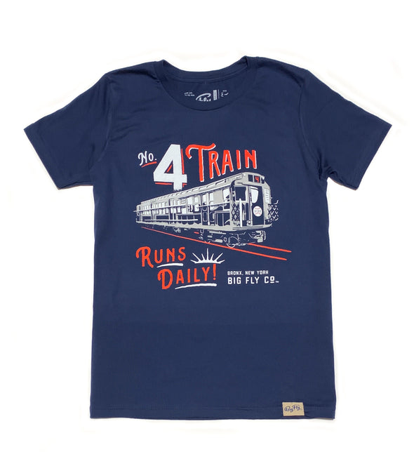 No. 4 Train Youth Tee