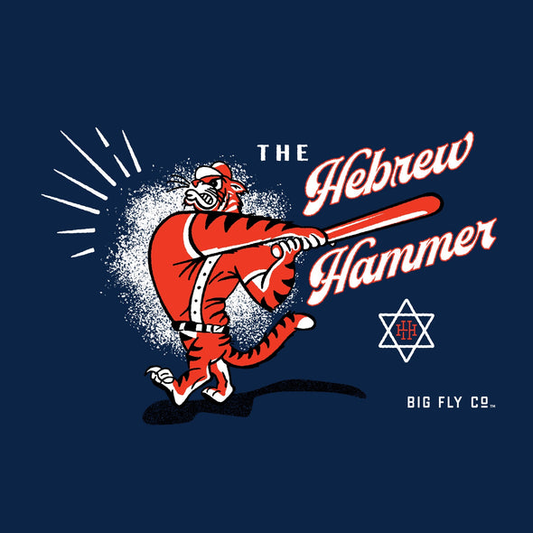 Hebrew Hammer Vintage Long Sleeve (Hank Greenberg)