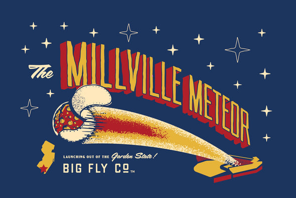 Millville Meteor Tee (Mike Trout)