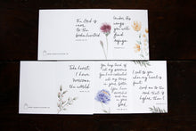 Load image into Gallery viewer, SYMPATHY WATERCOLOR CARD PACK || Floral Watercolor Sympathy Verse Card Pack of 10