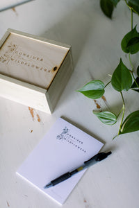 CONSIDER THE WILDFLOWERS || Worry Box Kit