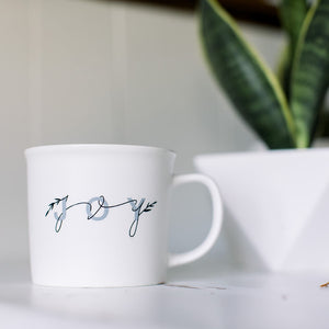 Handstolearn Joy Mug by Seneca Ryan Co