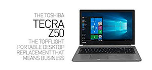 Toshiba Tecra Z50 Notebook PC – Intel Core i5 4200U – 4Gb Ram – 128GB SSD – W10P
