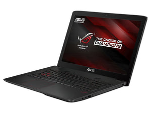 Gaming Laptop - Asus Rog GL552VW - I7 6700HQ (6TH GEN) - 16GB DDR4 RAM - 256GB NVME M2 SSD | 1TB HDD - NVIDIA GTX960 - 2GB - W10