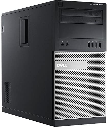 Tower - Dell Optiplex 7010 - i5 3470 (3RD GEN) - 4gb DDR3 Ram - 320 GB HDD - W10