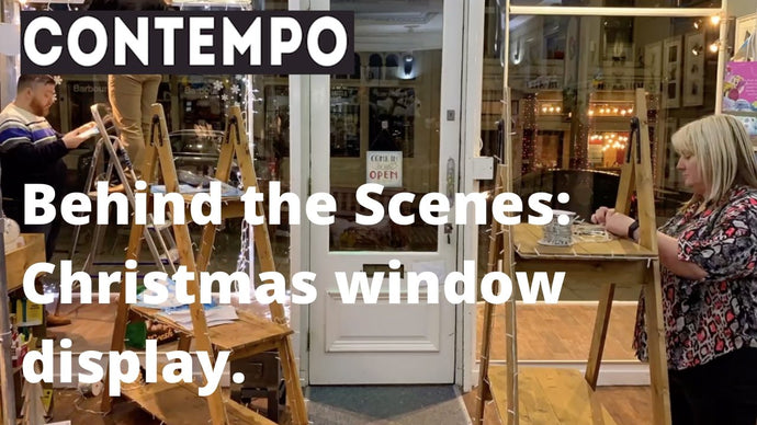 Behind the Scenes: Christmas Window Display