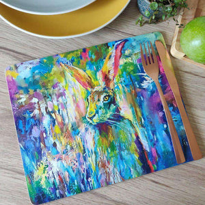 Woodland Hare Placemat
