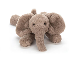 Jellycat Smudge Elephant lying down