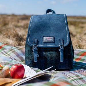 The Jura Harris Tweed Backpack (Blackwatch Tartan) Snowpaw Contempo