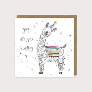 It's Your Birthday Llama Greetings Cards Louise Mulgrew Contempo