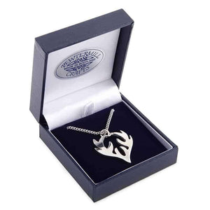 Pewter Highland Stag Antlers Pendant - Contempo