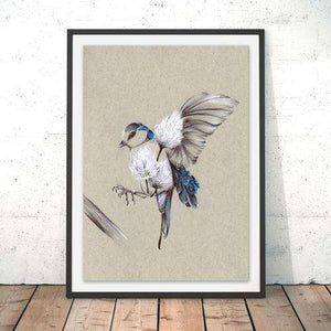 Rustic Bird Flight - Contempo