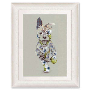 Rustic Cairn Scottie Dog Art Print Art Prints Wraptious Contempo