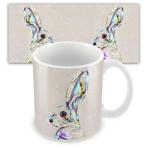 Rustic Hare Mug Mugs Wraptious Contempo