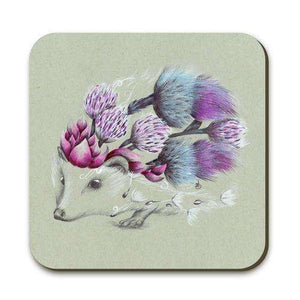 Rustic Hedgehog Coaster - Contempo