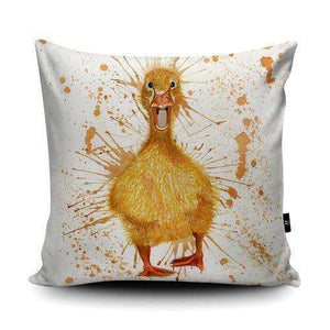 Splatter Duck Cushion Homeware Katherine Williams Contempo