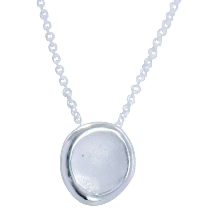 Sterling Silver  Midas Moon Necklace