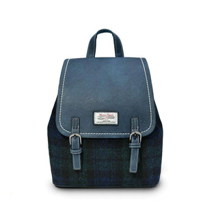 The Jura Harris Tweed Backpack (Blackwatch Tartan) Backpacks Snowpaw Contempo
