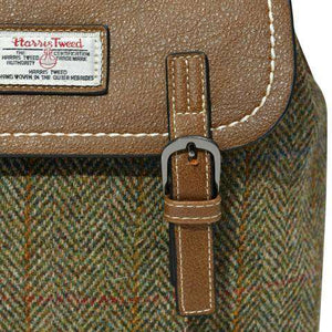 The Jura Harris Tweed Backpack (Chestnut Herringbone) Backpacks Snowpaw Contempo