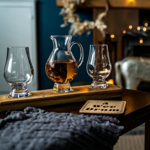 Twin Glencairn Whisky Glass & Water Jug Set