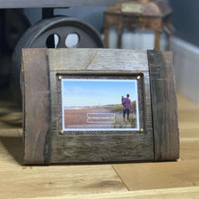 Load image into Gallery viewer, Upcycled Whisky Barrel Bilge Photo Frame - Contempo