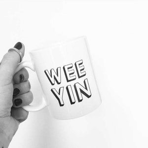 Wee Yin Scottish Slang Mug - Contempo