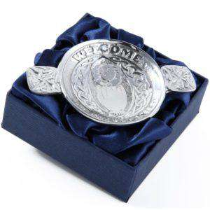 Welcome Beloved Child Mini Quaich - Contempo