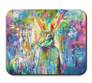 Woodland Hare Placemat Placemats Wraptious Contempo