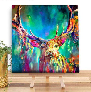 Woodland Stag Canvas Canvases Wraptious Contempo