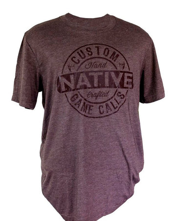 Native Brand Dark Brown Tee