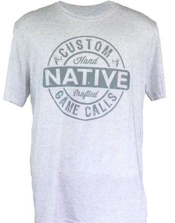 Native Brand Heather Grey Tee