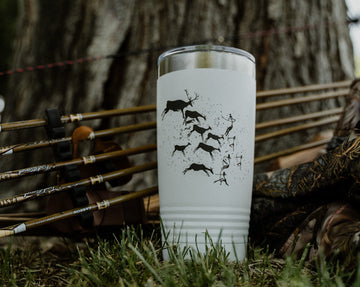 Trad Archery Gear coffee cup