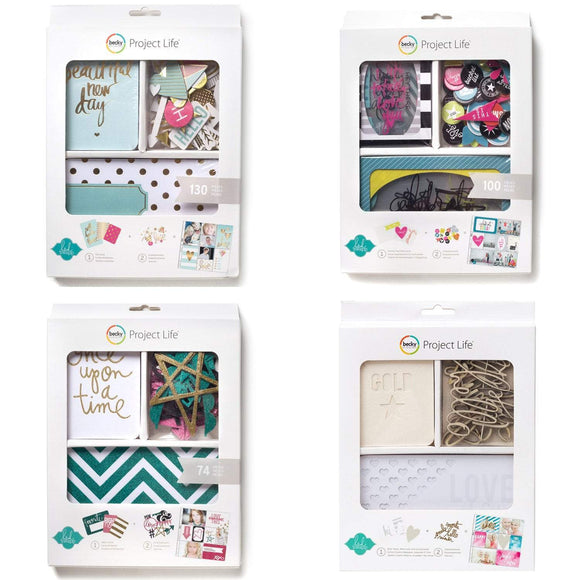 HEIDI SWAPP PROJECT LIFE CARDS AND POCKETS